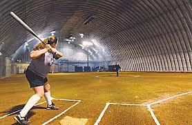 indoor baseball field