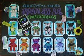 grateful dead beanie bears