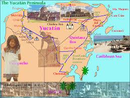 map of yucatan penn