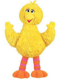 pictures of big bird from sesame street