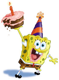 sponge bob birthday card