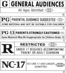 g movie rating