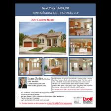 real estate flyers