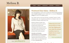 hair salon websites