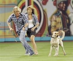 marley and me filming