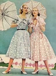 fashion of 1950s