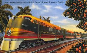 orange trains
