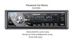 car stereo panasonic