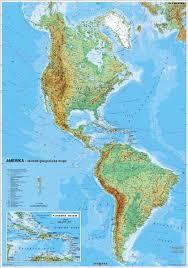 mapa amerika