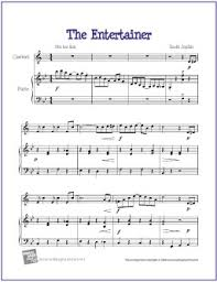 easy clarinet sheet music