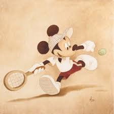 mickey mouse reading