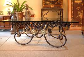 cast iron coffee tables