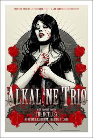 alkaline trio posters