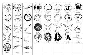 baseball team symbols