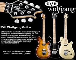 evh wolfgang electric guitar