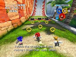 sonic the secret rings wii