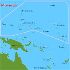 micronesia island