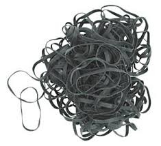 black rubberband