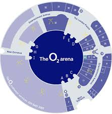 02 arena london seating plan