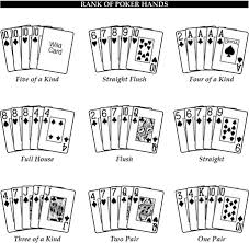 poker hand picture