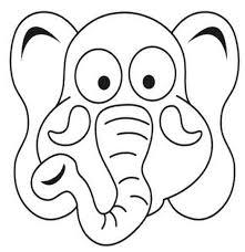 mascara de elefante