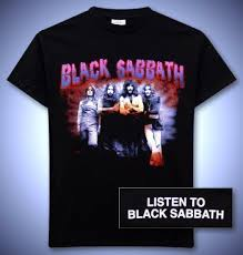 black sabbath tee shirt