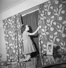 blackout curtains ww2