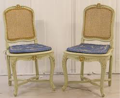 cane backed chairs