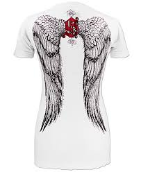 t shirt with angel wings