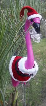 pink flamingo christmas
