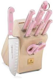 pink knives