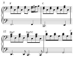 music score sheets