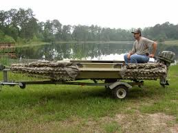 duck boat blinds