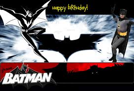 batman birthday cards