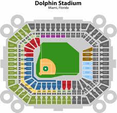 dolphins stadium seating chart
