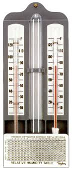 dry bulb thermometer
