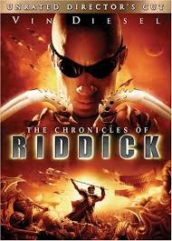 chronicles of riddick dvd