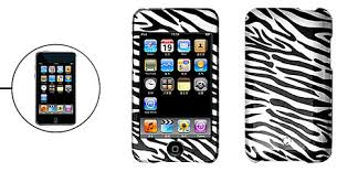 ipod touch zebra covers