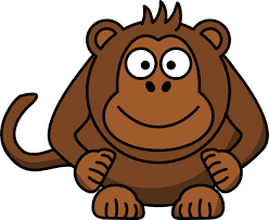animated monkey clip art