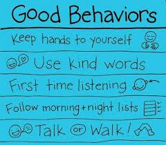good behavior charts