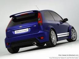 fiesta rs body kit
