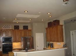 recessed lights in kitchen
