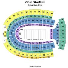 ohio stadium layout