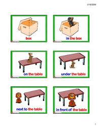 flashcards prepositions