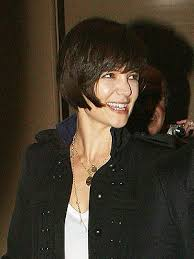 katie holmes new hair style