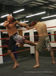muay thai low kick