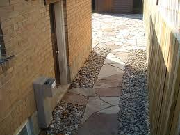 river rock patios