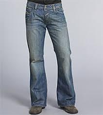 men flare jeans