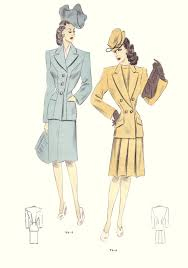 fashions of 1940s