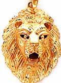 lion head charm
